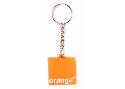 Orange nyckelring