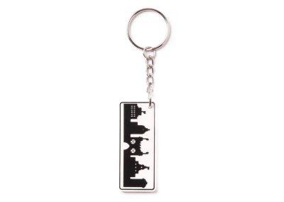 Stad nyckelring