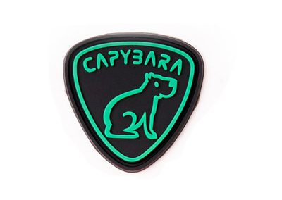 Capybara-Aufnäher