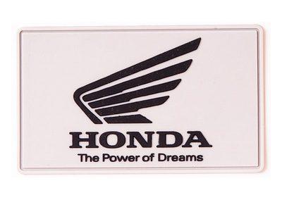 Honda-Grau-Aufnähe