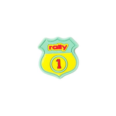 Rally-Aufnäher